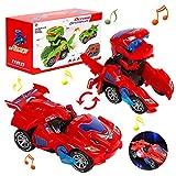 Auto Giocattolo di Trasforma Dinosauro, Dinosauro Giocattolo, Transformer Cars,Trasformers Giochi Robot, Robot Dinosauro, Transformers Auto Giocattolo Regalo per Bambini 3 ai 10 Anni, Dinosauro Giochi