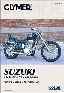 Clymer Repair Manual for Suzuki LS650 Boulevard S40 86-07