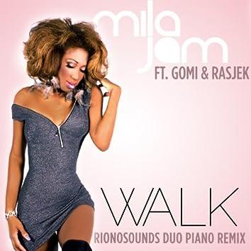 Walk (feat. Gomi & RasJek) [RionoSounds Duo Piano Remix]