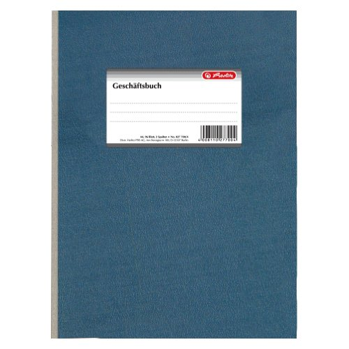 Herlitz Accounting Book - Libro contable