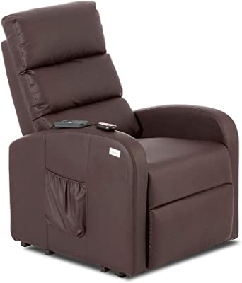 SuenosZzz - Sillon Relax reclinable Ground tapizado Tela ...