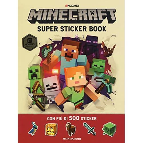 Minecraft Mojang. Super sticker book. Con adesivi