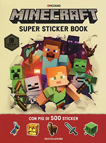 Minecraft Mojang. Super sticker book. Con adesivi