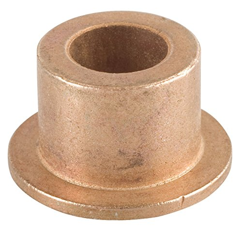 """Bunting Bearings EXEF081208 Extra Lubricant with PTFE Flange Bearing, Powdered Metal, SAE 841, 1/2"""" Bore x 3/4"""" OD x 1/2"""" Length x 1"""" Flange OD x 1/8"""" Flange Thickness (Pack of 3)"""