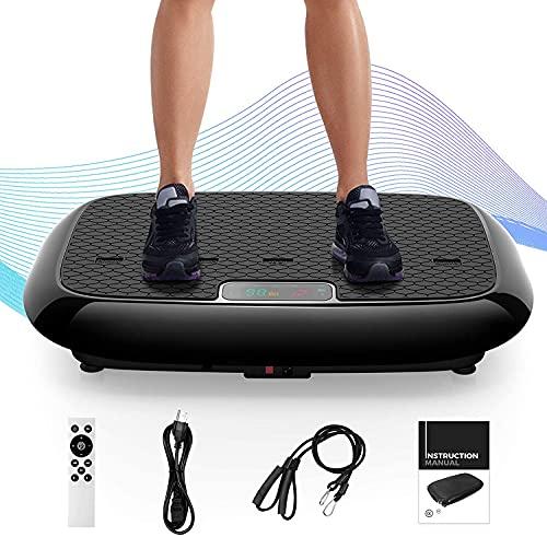 Natini Vibration Plate Exercise Machine, Whole Body Workout Vibrating...