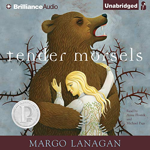 Tender Morsels                   By:                                                                                                                                 Margo Lanagan                               Narrated by:                                                                                                                                 Anne Flosnik,                                                                                        Michael Page                      Length: 14 hrs and 11 mins     52 ratings     Overall 3.6