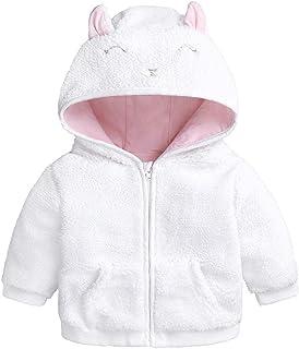 542f68f70 beautyjourney Escudo con Capucha de la Historieta de Las niñas bebé recién  Nacido Chaquetas de Lana