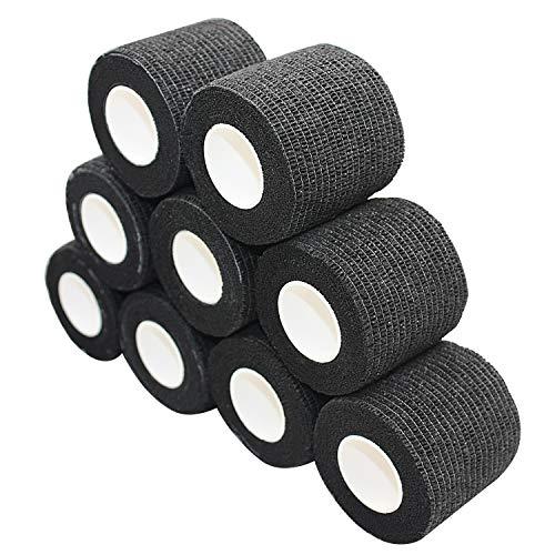 nilo plakband - 12 rollen 7,5 cm x 4,5 m, zelfklevend, elastische bandage, verband, EHBO-set