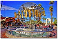 BEI YU MAN.co アメリカアメリカユニバーサルスタジオハリウッドロサンゼルス大人のためのジグソーパズル子供1000ピースギフトのための木製パズルゲーム家の装飾特別な旅行のお土産