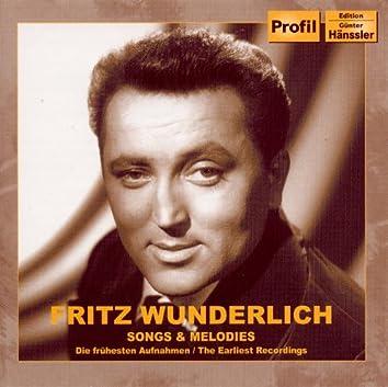Vocal Recital: Wunderlich, Fritz - Kaiser, E. / Georgy-Engelhardt, G. / Katt, M. / Hasenpflug, C. / Berner, H. / Kowalski, L. (1953-1956)