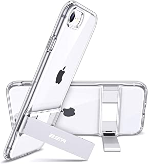 ESR Metal Kickstand Designed for iPhone SE 2020 Case iPhone 7 8 Case [Vertical and Horizontal Stand] [Reinforced Drop Prot...