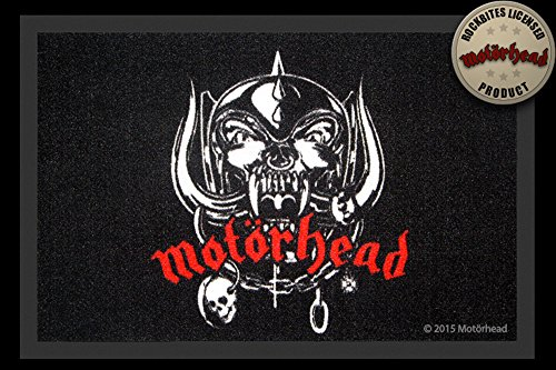 Empireposter Motörhead - Felpudo (60 x 40 cm, polipropileno)