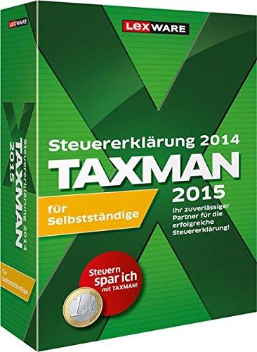 TAXMAN 2015 für Selbstständige, DVD-ROMSteuererklärung 2014. Die professionelle Steuererklärung für Private und Selbstständige!. Einzelversion. Für Windows XP (ab SP3)/Vista (ab SP2)/7 (jew. ab Version Home, dt. Version), Windows 8 (dt. Versi