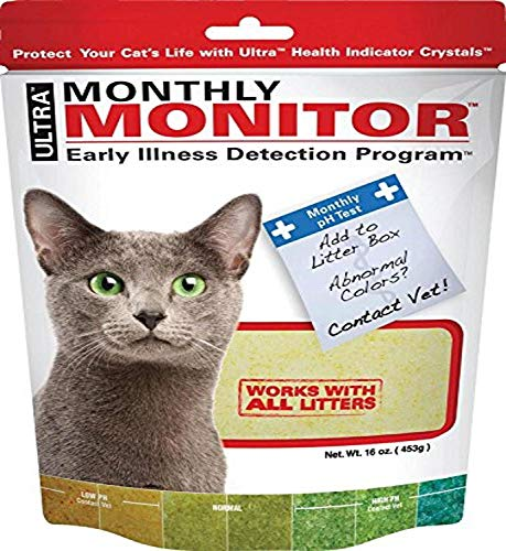 Ultra Cat Health Monthly Monitor Crystal | Amazon