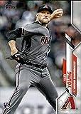 2020 Topps #242 Alex Young Arizona Diamondbacks Rookie Baseball Card. rookie card picture