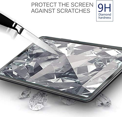 IVSO Displayschutz für Samsung Galaxy Tab S5e T720/T725 10.5, 9H Härte, 2.5D, Displayfolie Schutzglas Displayschutz Für Samsung Galaxy Tab S5e 10.5 T720/T725 10.5 Zoll Release, (2 x)