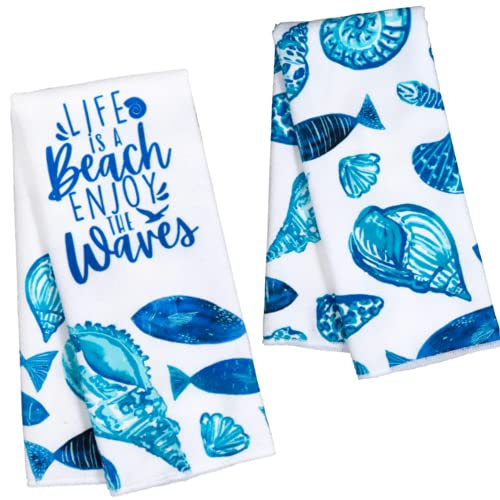 Top 10 Best Selling List for seashell kitchen towels