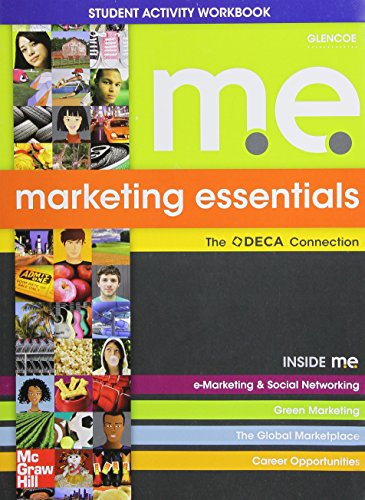 Glencoe Marketing Essentials Student Activity Workbook