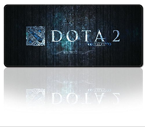 Smaige XXL Extended Gaming Mouse Mat / Pad - Large, Wide (Long) Mousepad, Stitched Edges | 31.5'x11.8'x0.12' Dimensions ( Dota 2)
