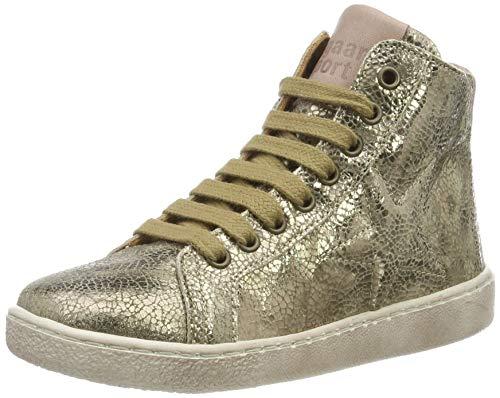 Bisgaard Mädchen Gaia Hohe Sneaker, Braun (Stone 419), 28 EU
