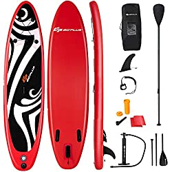 "7. Goplus 6"" Thick - Best Beginners Stand up Paddle Board Under $300"