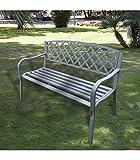 Papillon 8042475 Panca da giardino Midland 128x56x85 cm
