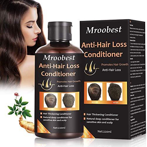 Conditioner Haar, Haar Wachstum Conditioner, Anti-Haarverlust Conditioner, Effektiv gegen Haarausfall, Stärkend, Regenerierend, Wachstumsfördernd, Behandlung für Alle Haartypen