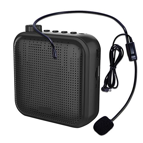 Voice Amplifier Portable Wired Speaker Mini Voice Amplifier For Teacher Shopping Guide The Aged Guide And So On Built-in Rechargeable Battery