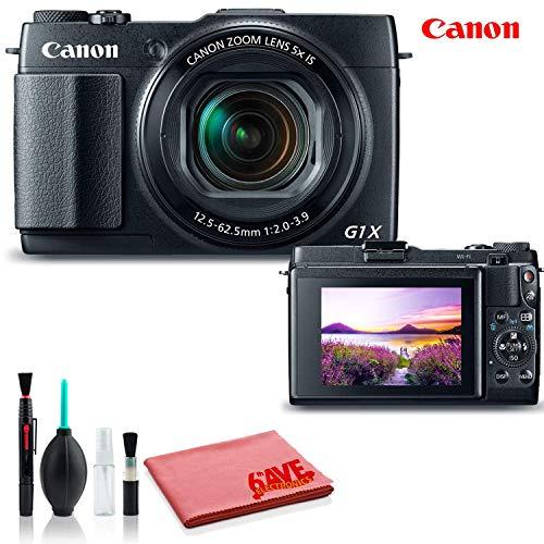 Canon PowerShot G1 X Mark II Digital Camera (International Model) - Standard Kit