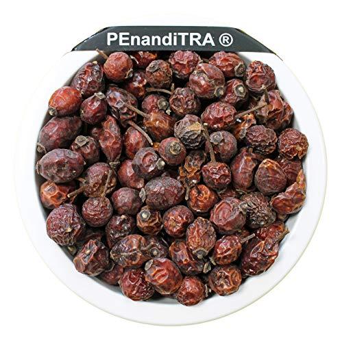 Hagebutten Hagebuttenfrüchte ganz 1 kg 1000 g ~ naturrein ~ ohne Zusätze ~ gentechnisch unverändert ~ unbestrahlt ~ unbegast ~ PEnandiTRA®