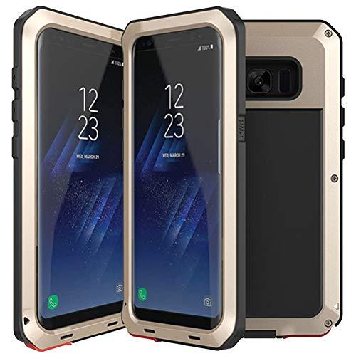 CAGSQ Caja del Teléfono para Fundas De Teléfono Híbridas De 3 Capas A Prueba De Golpes Samsung Galaxy S8 S7 S6 Edge Plus S5 S4 Note 3 4 5 Funda Impermeable De Pc + TPU