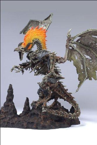 McFarlane Toys - McFarlane's Dragons série 6 figurine Fossil Clan Dragon 25 cm