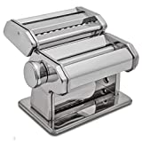 HuiJia Wellness 150 Pasta Maker Machine Stainless Steel Pasta Roller...