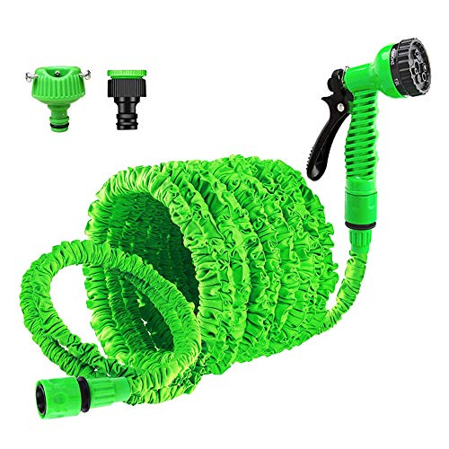 Garden Hose 100FT Expandable Magic Hose Pipe with 7 Function High Pressure...