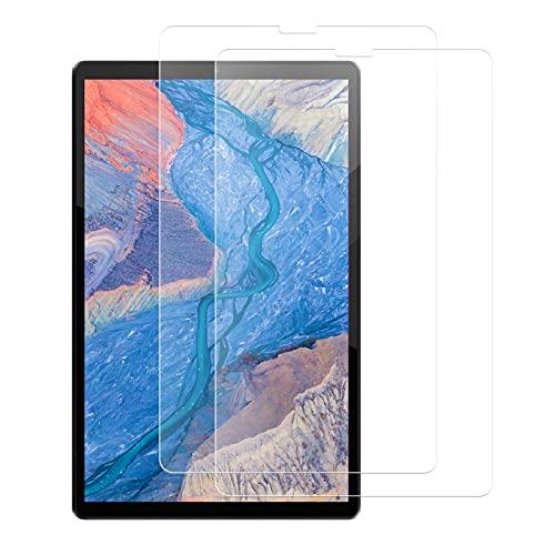 Vqvq 2 Packs Templado Protector para Lenovo Tab K10 TB-X6C6 Tableta, Protector Cristal de Pantalla de Vidrio Premium Templado, 9H Dureza, Antiarañazos, Antihuellas, Sin Burbujas