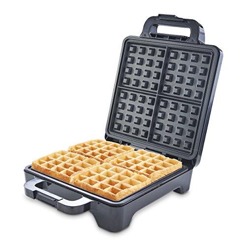 Heska - Turbo 1600W - Powerful Premium Belgian Waffle Maker 1600W - 4...