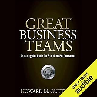 Great Business Teams: Cracking the Code for Standout Performance Titelbild