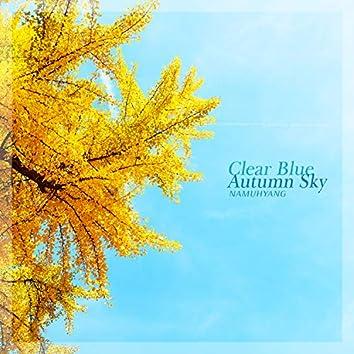 Clear Blue Autumn Sky