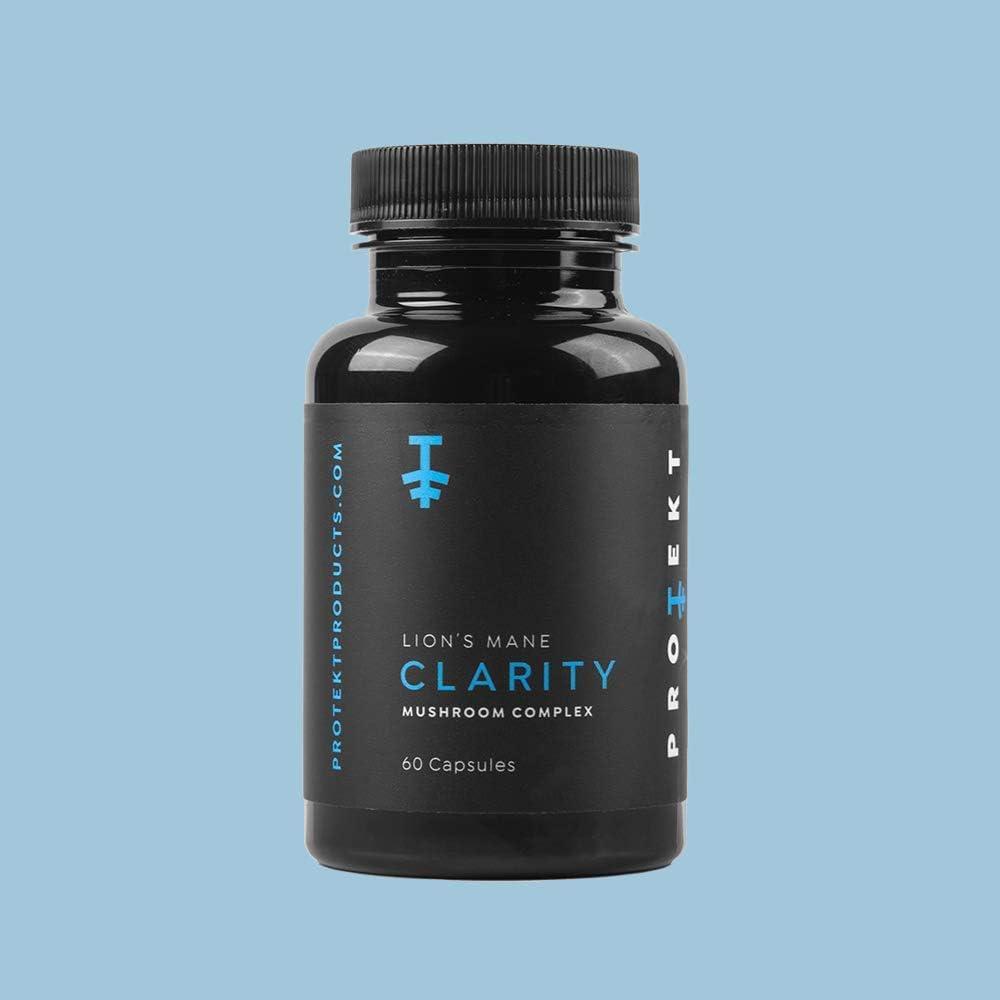Clarity Organic Max 68% OFF Lion's Mane Mushroom Cheap Complex 60 - Capsules Pro