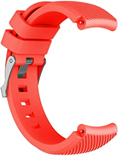 Smart Watchband Replacement Silicone Watch Band Wrist Strap For Huawei Watch GT Smart Watch 22mm Orange