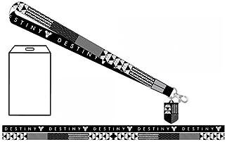 Destiny Symbol Pattern Lanyard keychain Holder with ID Badge Holder