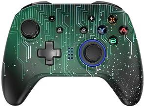 ZZYJYALG Gamepad Plastic Game Joystick Controller Bluetooth Wireless Console Double Vibration Game PC Phone Joysticks Swit...