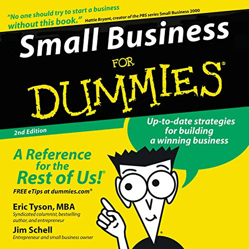 Couverture de Small Business for Dummies, 2nd Edition