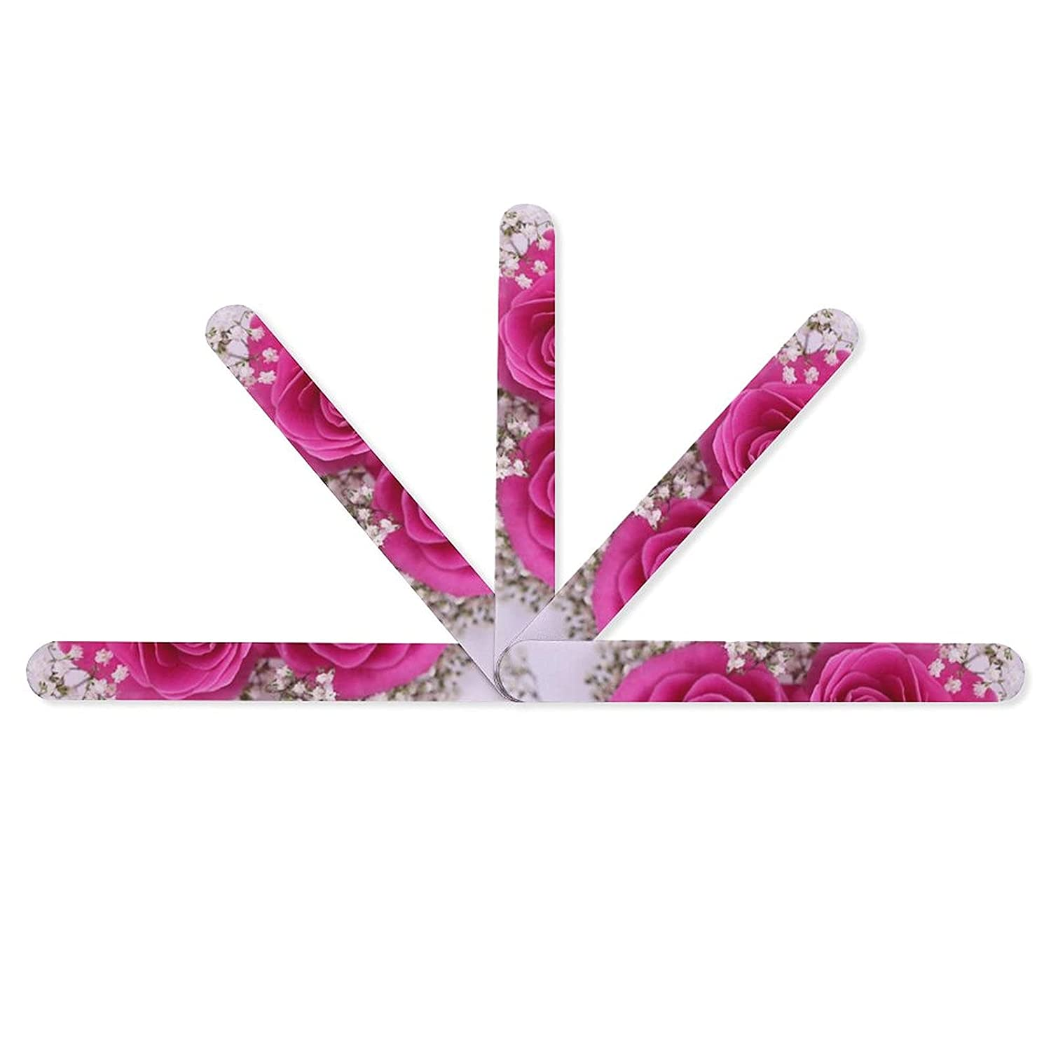 Floral Blooming Flower Water Nail Double Ranking integrated 1st place Professional 5 File PCS Sales