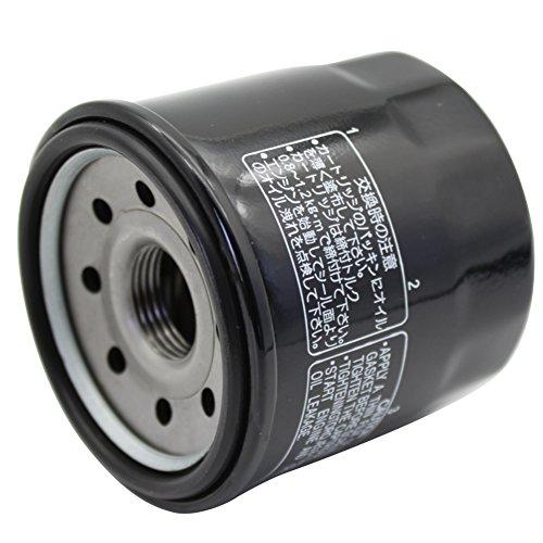 Cyleto Ölfilter für Kawasaki W650 1999-2005 Z750 2004–2006 Z1000 2003-2006 ZX1000 NINJA ZX-10R 1000 2004-2006 ZX6R NINJA 2006 ZZR600 2002-2006
