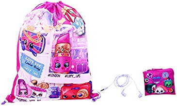 Shopkins Girls 3pc Gift Set, Pink, One Size