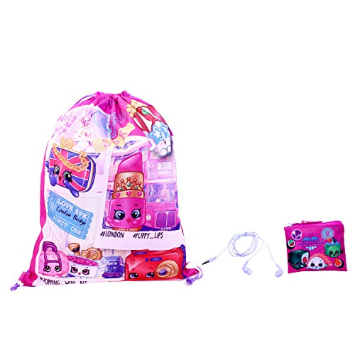 Shopkins Girls 3pc Gift Set, Pink, One Size