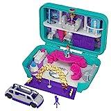 Polly Pocket - Maletín con muñecas, fiesta divertida - (Mattel FRY41)