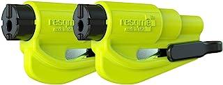 Resqme GBO-RQMTWIN-YELLOWFLUO reddingsgereedschap als sleutelhanger, geel, set