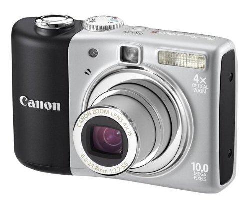 Canon PowerShot A1000 IS Digitalkamera (10 Megapixel, 4-fach opt. Zoom, 2,5